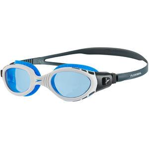 speedo Futura Biofuse Flexiseal Goggles oxid grey/white/blue oxid grey/white/blue