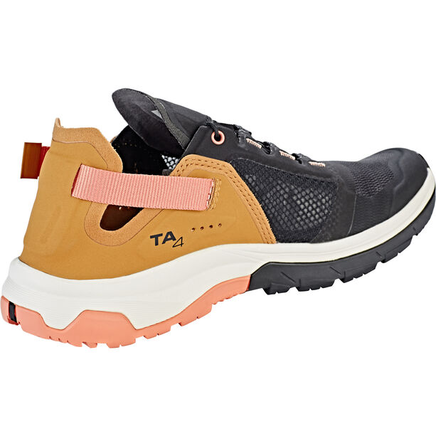 Salomon Techamphibian 4 Shoes Damen black/bistre/tawny orange
