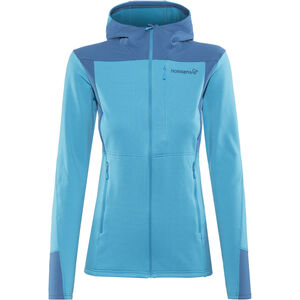 Norrøna Falketind Warm1 Stretch Zip Hoodie Damen blue moon blue moon