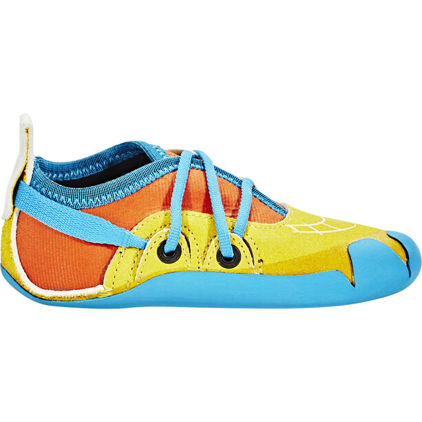 La Sportiva Gripit Kletterschuhe Kinder yellow/flame