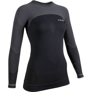 UYN Running Alpha OW Langarmshirt Damen blackboard/charcoal blackboard/charcoal