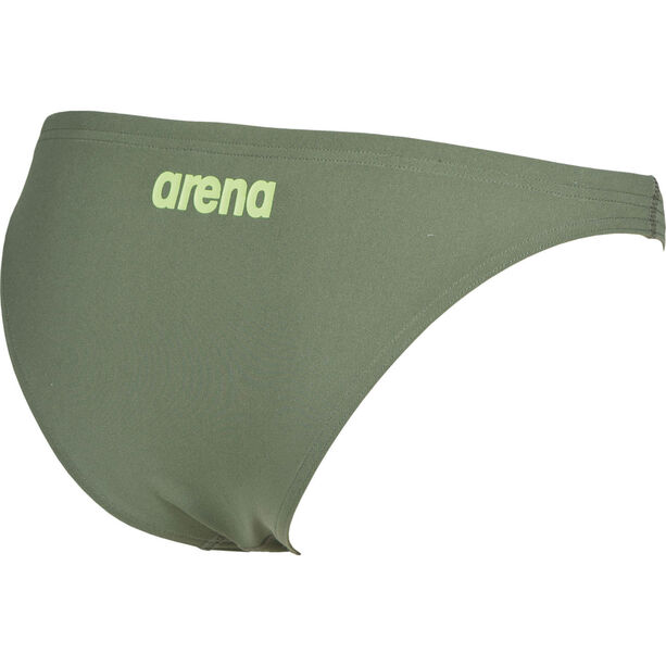arena Solid Bottom Damen army-shiny green