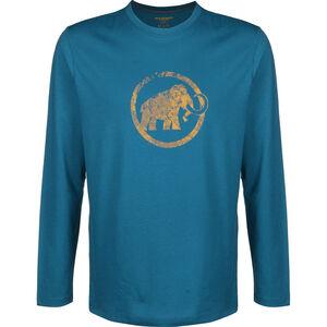 Mammut Logo Langarm Shirt Herren sapphire sapphire