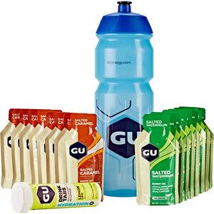 GU Energy Test Box inklusive Flasche Salted Caramel und Watermelon