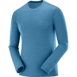Salomon Exp*** Langarm T-Shirt Herren lyons blue lyons blue