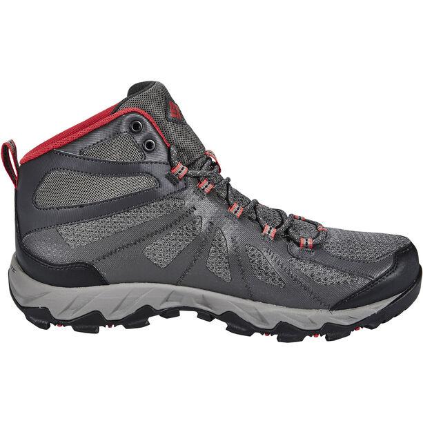 Columbia Peakfreak XCRSN II XCEL Mid Outdry Schuhe Herren city grey / bright red