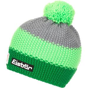 Eisbär Star Bommelmütze SP Herren electric/light green/grey mottled electric/light green/grey mottled