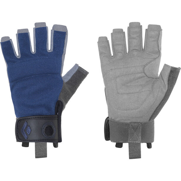 Black Diamond Crag Half-Finger Gloves cobalt
