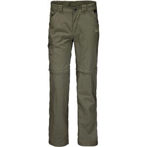 Jack Wolfskin Safari Zip-Off Pants Kinder woodland green woodland green