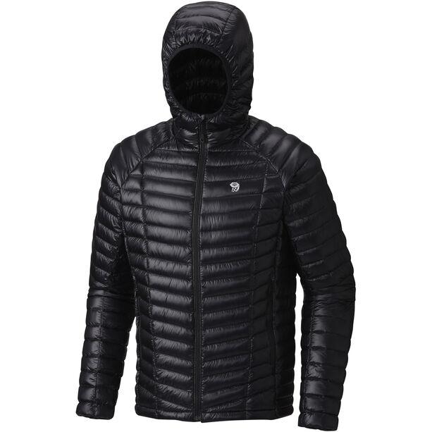Mountain Hardwear Ghost Whisperer Hooded Down Jacket Herren black
