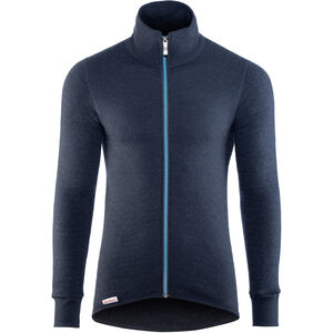 Woolpower 400 Colour Collection Full-Zip Jacket dark navy/nordic blue dark navy/nordic blue