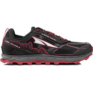 Altra Lone Peak 4 Running Shoes Herren black/red black/red