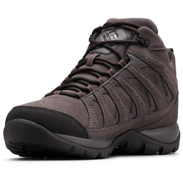 Columbia Redmond V2 LTR WP Mid-Cut Schuhe Herren dark grey/madder brown