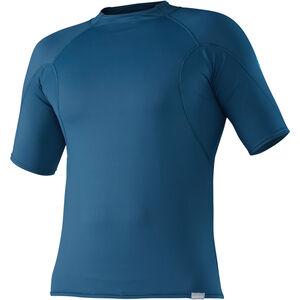 NRS H2Core Rashguard Shortsleeve Shirt Herren moroccan blue moroccan blue