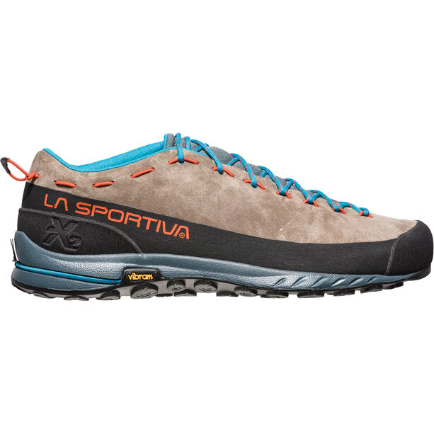 La Sportiva TX2 Leather Shoes Herren falcon brown/tangerine