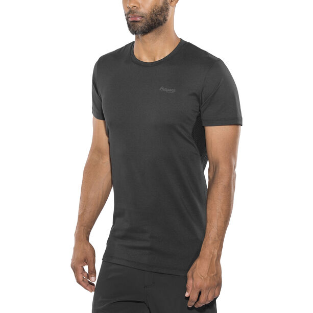 Bergans Fløyen T-Shirt Herren black/solid charcoal