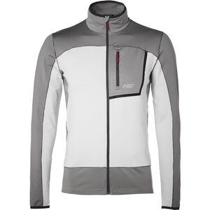 North Bend Nevis Zip Sweater Jacket Herren grey chip grey chip