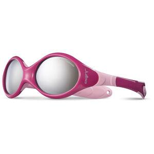 Julbo Looping III Spectron 4 Sunglasses 2-4Y Kinder crimson/pink-gray flash silver crimson/pink-gray flash silver