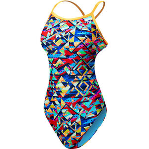TYR Mosaic Diamondfit Swimsuit Damen multi multi