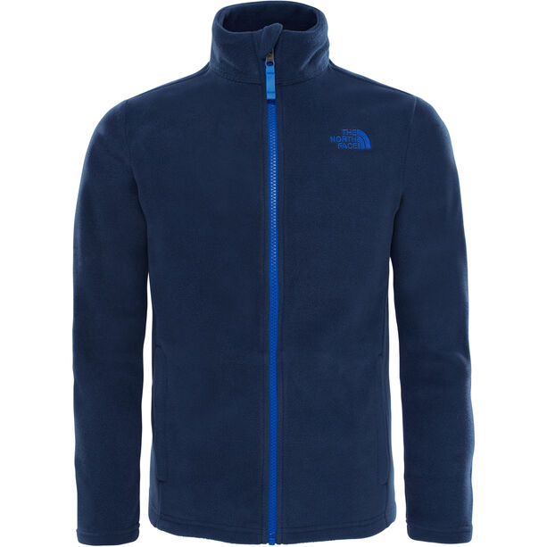 The North Face Snow Quest Full-Zip Roundneck Jacket Kinder cosmic blue