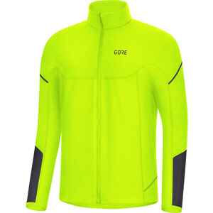 GORE WEAR M Thermo Langarm Zip Shirt Herren neon yellow/black neon yellow/black
