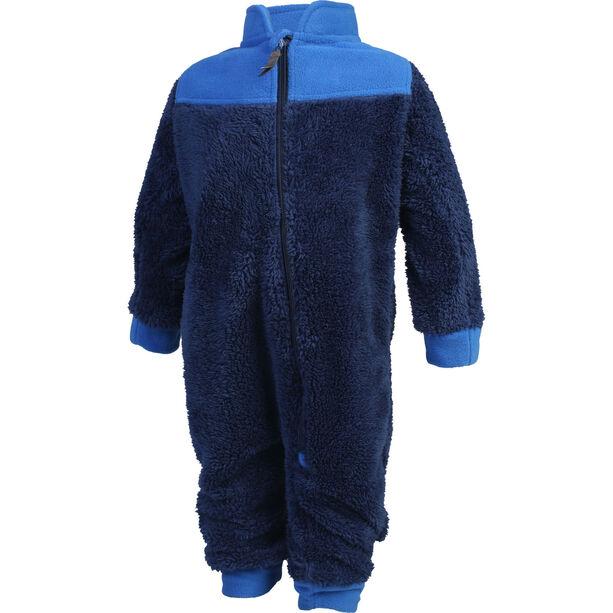 Color Kids Karim Pile Suit Kinder estate blue