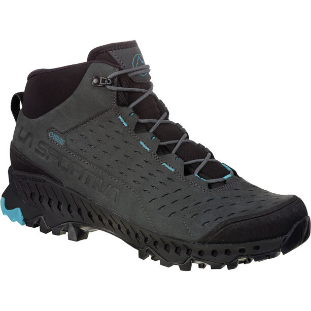 La Sportiva Pyramid GTX Schuhe Herren carbon/tropic blue