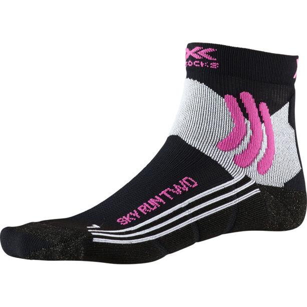 X-Socks Sky Run Two Socks Damen black melange
