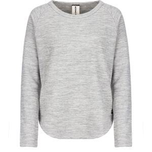 super.natural Knit Sweater Damen ash melange ash melange