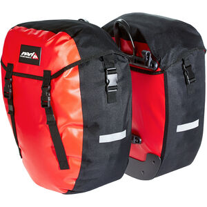 Red Cycling Products Urban Twin Gepäckträgertasche red red