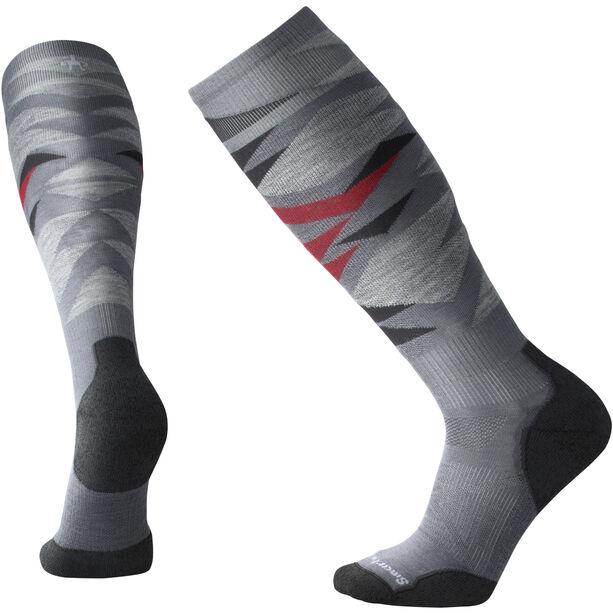 Smartwool PhD Ski Light Pattern Socken graphite