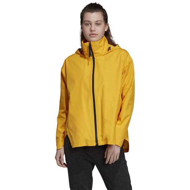 adidas TERREX Urban Climaproof Leichte Jacke Damen active gold