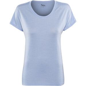 Bergans Oslo Wool T-Shirt Damen air blue air blue