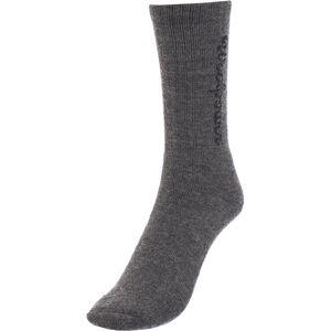 Woolpower 400 Logo Socks grey grey