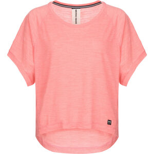 super.natural Motion Peyto Tee Damen georgia peach melange georgia peach melange