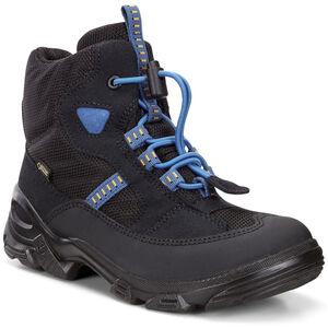 ECCO Snowboarder Shoes Kinder black/black/cobalt black/black/cobalt