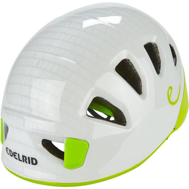 Edelrid Shield II Helm Kinder pebbles/oasis