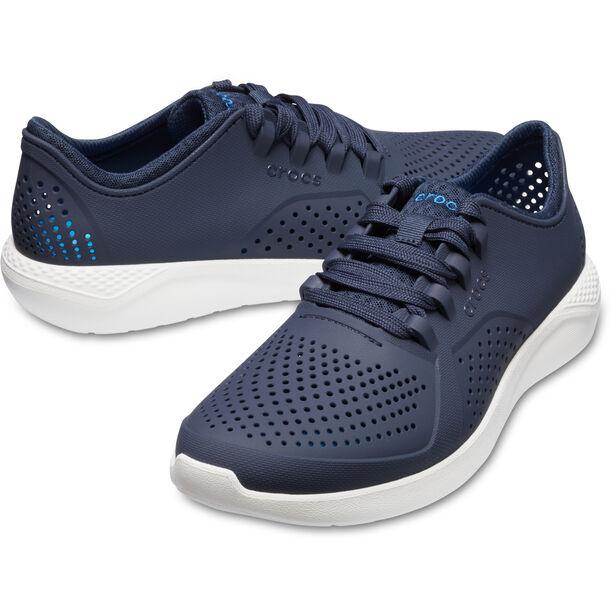 Crocs LiteRide Pacer Shoes Herren navy/white
