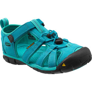 Keen Seacamp II CNX Sandals Jugend baltic/caribbean sea baltic/caribbean sea