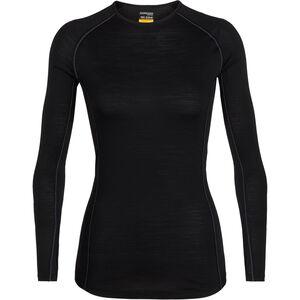 Icebreaker 150 Zone LS Crew Shirt Damen black/mineral black/mineral