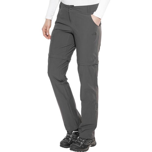 The North Face Exploration Convertible Pants short Damen asphalt grey