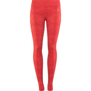 Odlo Suw Natural + Kinship Warm Bl Bottom Pants Damen baked apple melange baked apple melange