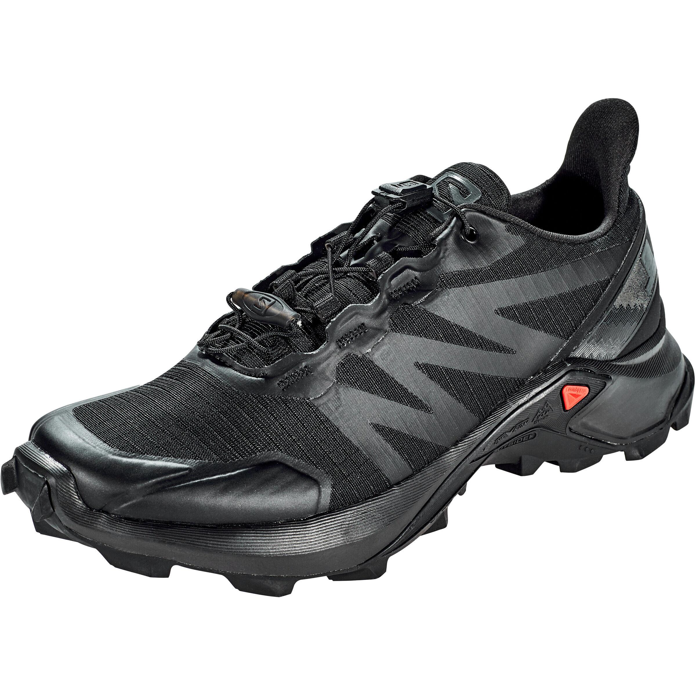Salomon Supercross Schuhe Damen blackblackblack