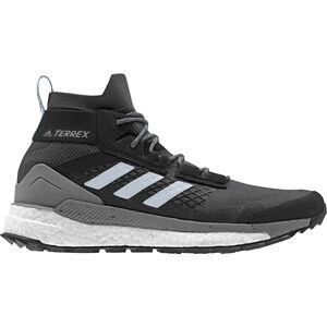 adidas TERREX Free Hiker Wanderschuhe Damen carbon/blutin/ash grey carbon/blutin/ash grey