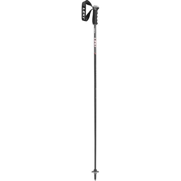 LEKI Neolite Carbon Skistöcke black/anthracite/white/red