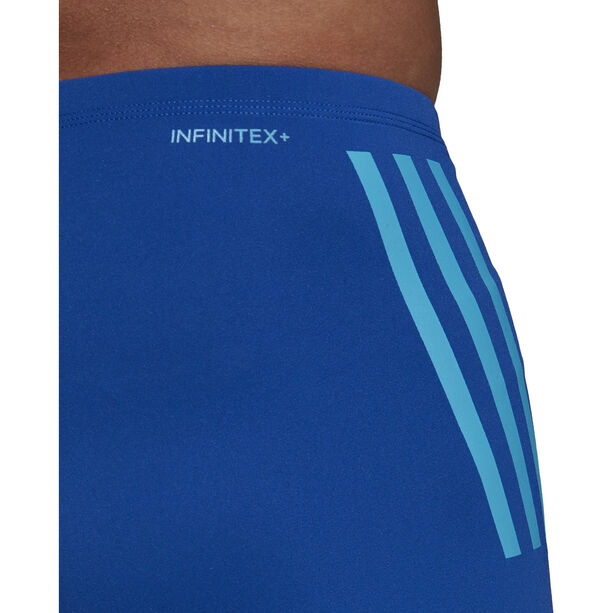 adidas Pro 3-Stripes Boxer Herren collegiate royal/shock cyan