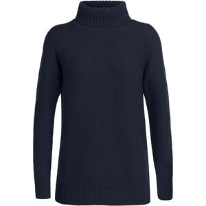 Icebreaker Waypoint Rollkragen Sweater Damen midnight navy midnight navy