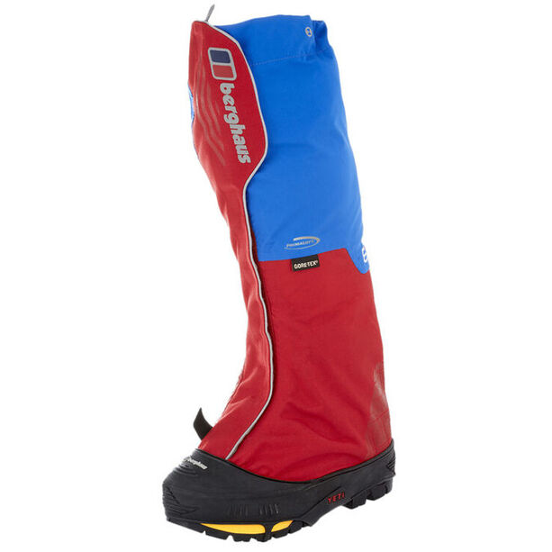 Berghaus Yeti Extrem Pro III Insulated Gaiters intense blue/red