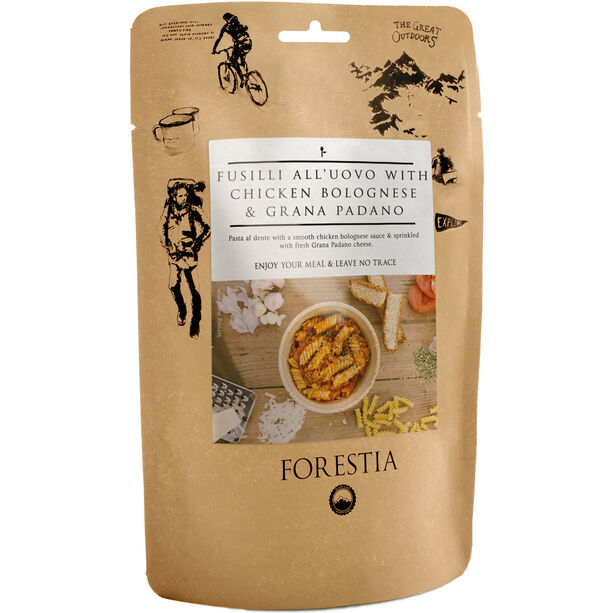 Forestia Outdoor Meal Meat 350g Fusilli all