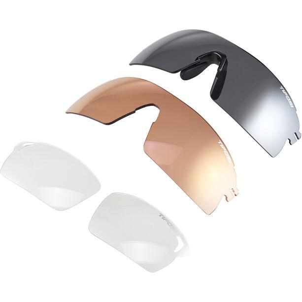 Tifosi Escalate SF Glasses Herren matte black - smoke/ac red/clear